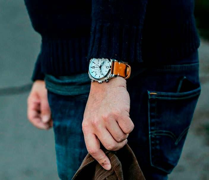 Видео | Авиационные часы в стиле истребителя Хокер «Хантер»