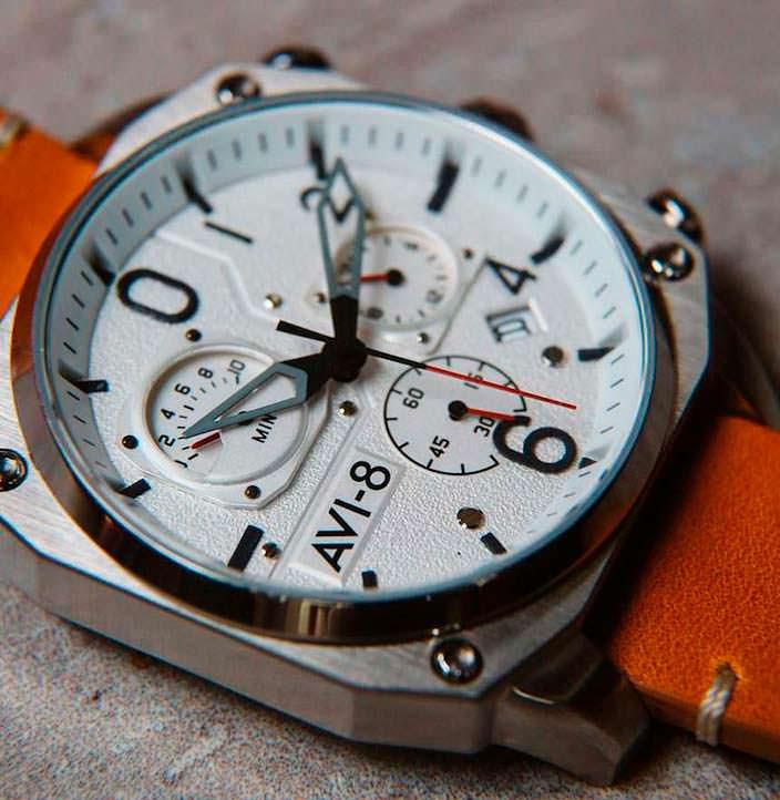 Авиационные часы для энтузиастов Hawker Hunter AVI-8 AV-4052