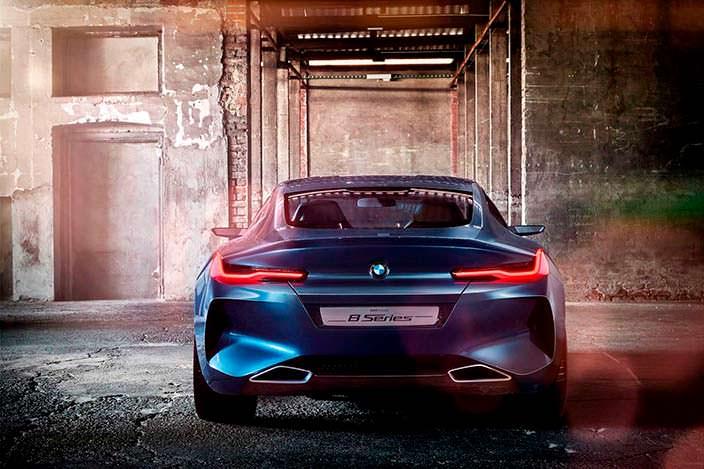 Стильное купе BMW 8-Series Concept 2017 года
