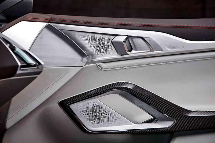 Дизайн отделки двери BMW 8-Series Coupe 2017 года
