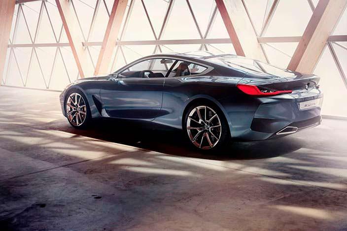 Купе BMW 8-Series. Концепт 2017 года