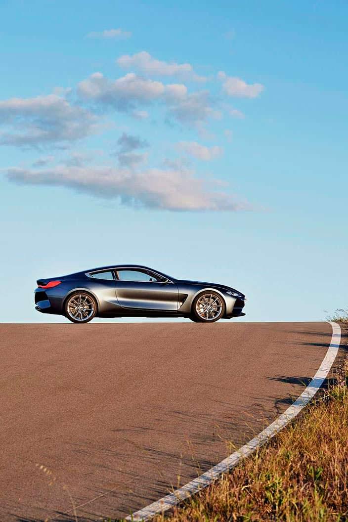 Фото | Купе BMW 8-Series 2017 года
