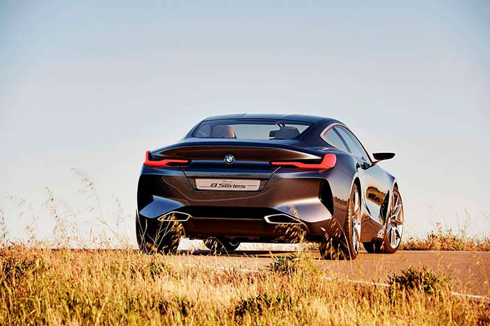 Дизайн BMW 8-Series 2017 года