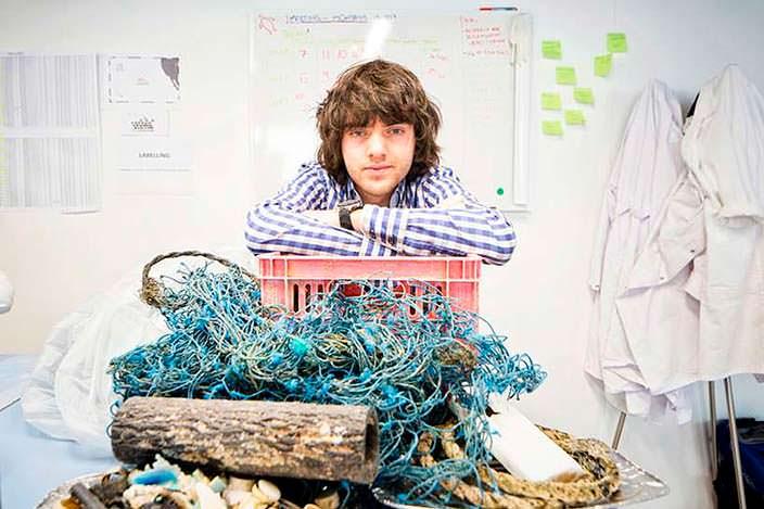 Фото | Боайн Слат очистит мировой океан от мусора