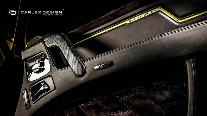Обшивка двери Brabus G500 4x4²от Carlex Design