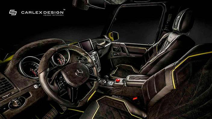 Фото | Чёрный салон Brabus G500 4x4² от Carlex Design