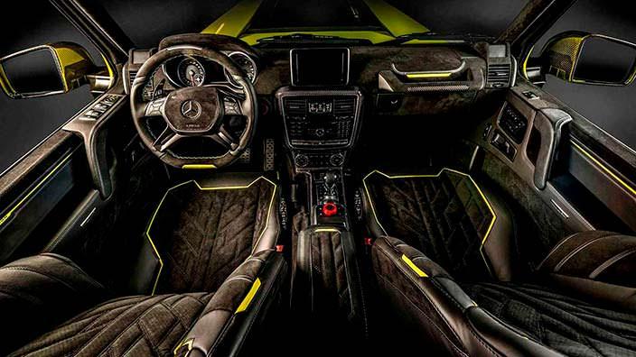 Фото | Кожаный салон Brabus G500 4x4² от Carlex Design