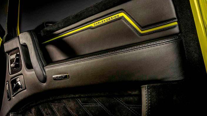 Дизайн двери Brabus G500 4x4² от Carlex Design