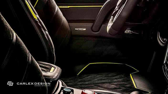 Кожаный салон Brabus G500 4x4²от Carlex Design