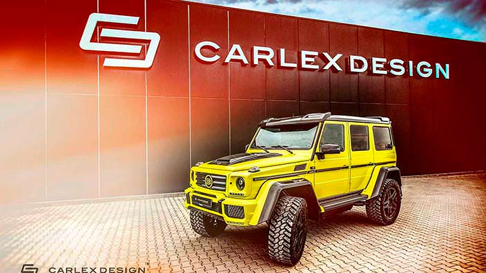 Тюнинг Brabus G500 4x4² от Carlex Design