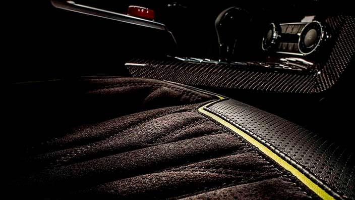 Обшивка сидений Brabus G500 4x4²от Carlex Design