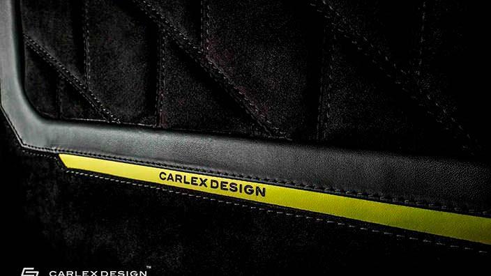 Черное с желтыми акцентами в салоне Brabus G500 4x4²