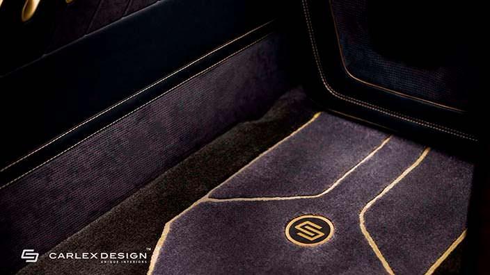 Дизайн напольных ковриков в Мерседес Спринтер от Карлекс