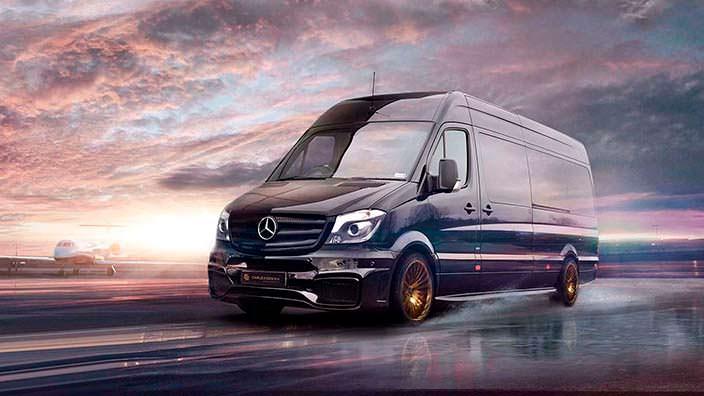 Фото | Тюнинг Mercedes-Benz Sprinter от Carlex Design