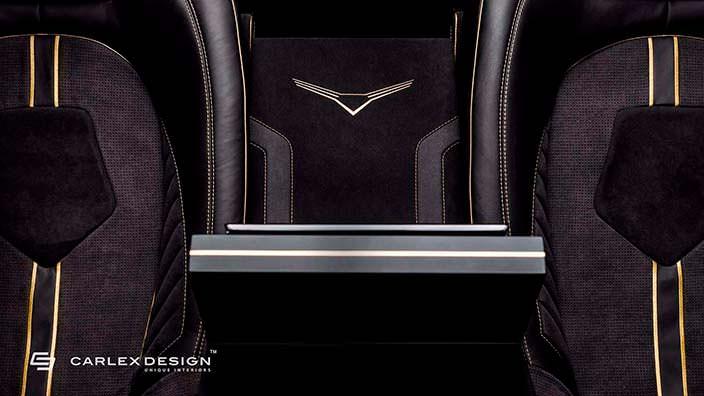 Элитные сиденья в салоне Mercedes Sprinter от Carlex