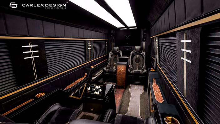 Фото | Элитный офис на колесах из Mercedes-Benz Sprinter