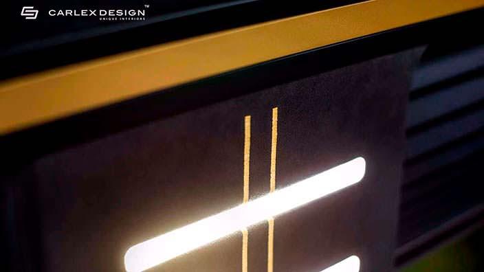 Светодиодное освещение салона Mercedes Sprinter от Carlex