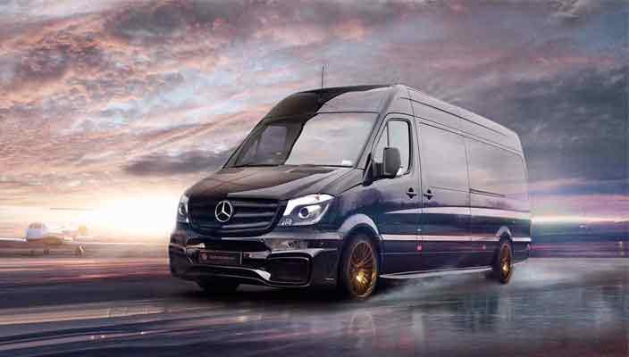 Тюнинг Mercedes Sprinter от Carlex: элитный офис | фото