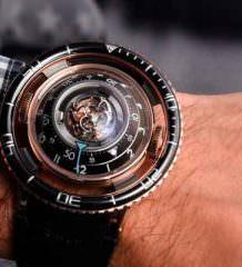 MB&F HM7 Aquapod - часы с турбийоном в виде летающей тарелки