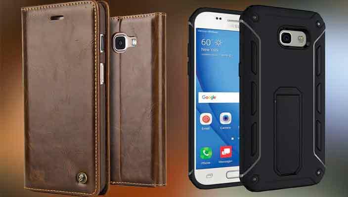 Чехлы для смартфонов Samsung А5 серии. Новинки 2017 года