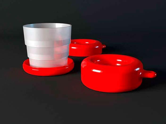Складные переносные чашки для эспрессо от Smart K