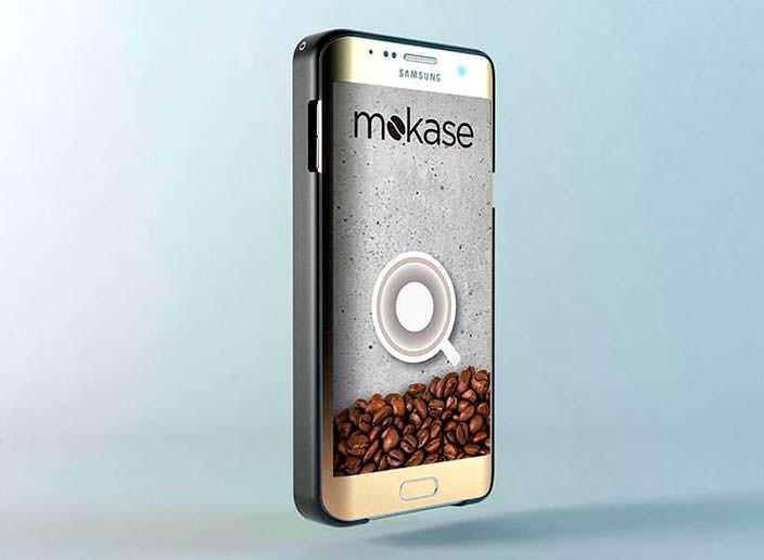 Фирменное приложение для заварки эспрессо в смартфоне