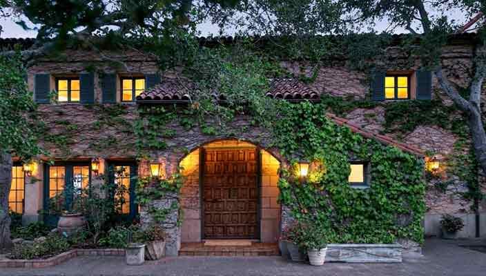 Актер Джефф Бриджес продал дом в Монтесито | цена, фото