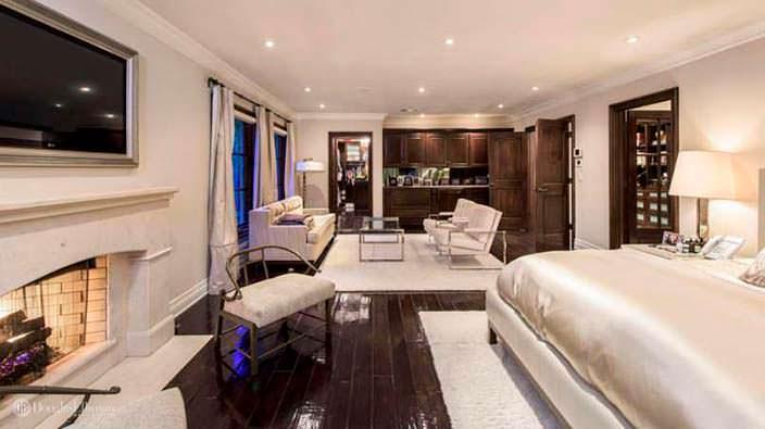 Дизайн спальни с собственной гостиной