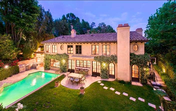 Фото | Дом Ким Кардашьян и Криса Хамфриса в Беверли-Хиллз