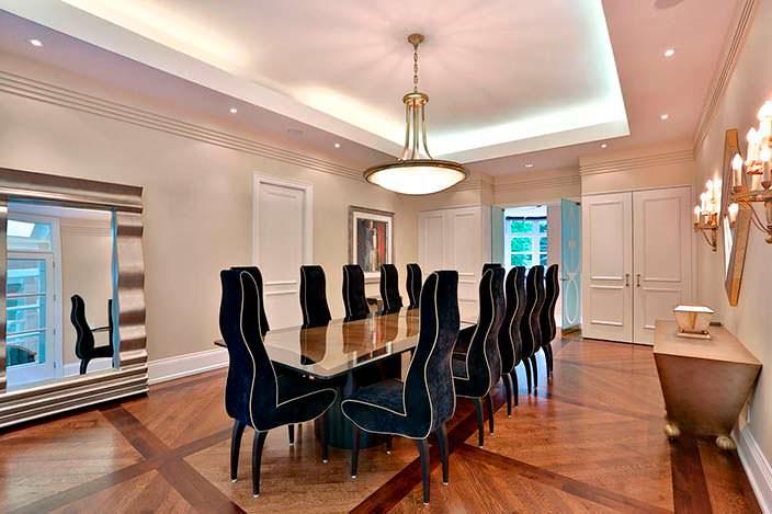 Фото | Дизайн столовой в доме Принса. Торонто, Канада