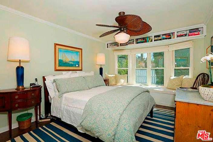 Ветряк в дизайне спальни