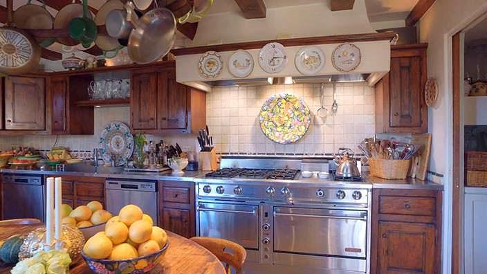 Фото | Профессиональная кухня в горном шале