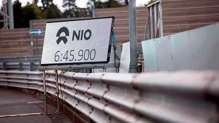 Nio EP9: Рекорд Нюрбургринга со временем 6 минут 45,90-секунд