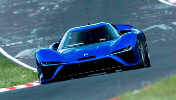 Китайский суперкар Nio EP9 установил рекорд Нюрбургринга
