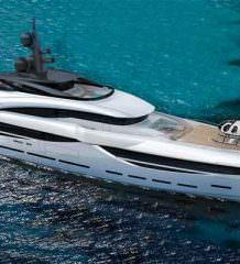 Итальянская верфь ISA Yachts построит 67-метровую яхту GT67