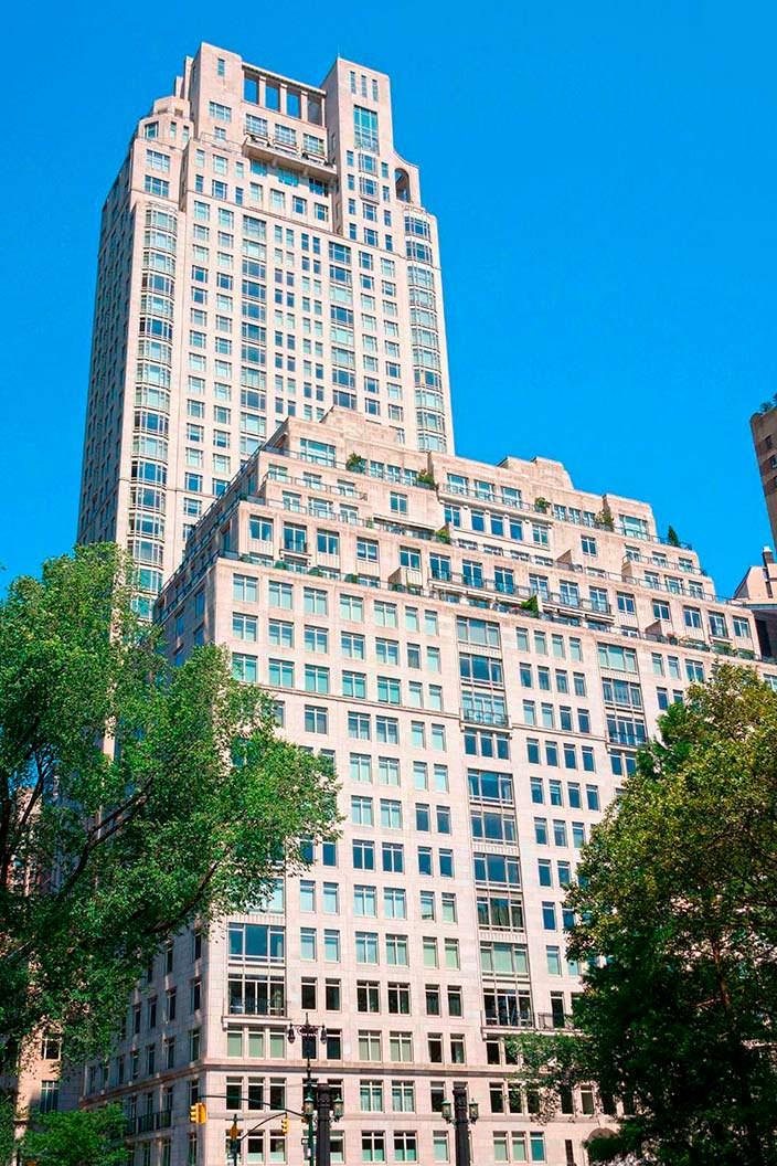 Здание на Манхэттене, где находится квартира Стинга