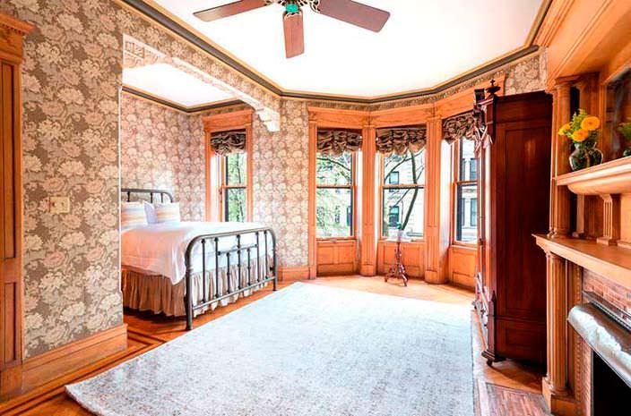 Спальня в доме в Бруклине, где жил Барак Обама
