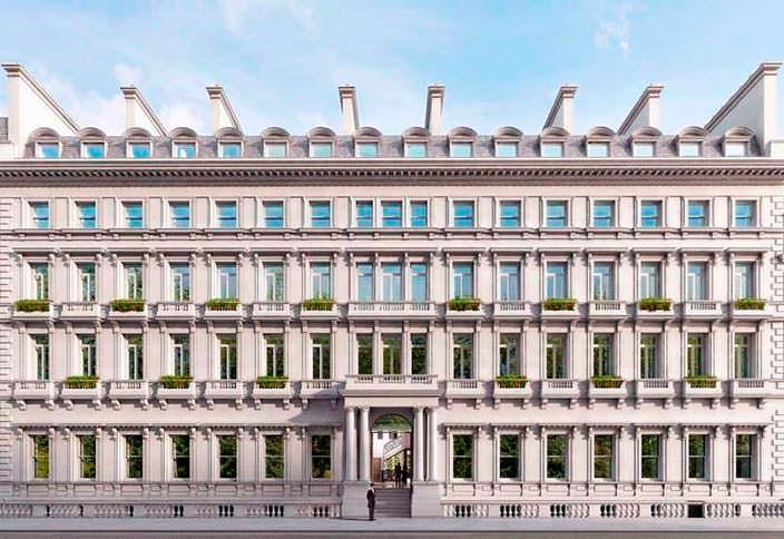 Квартиры напротив Букингемского дворца в Лондоне
