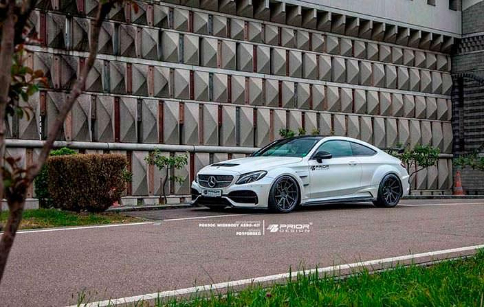 Новый обвес кузова Mercedes-AMG C63 Coupe от Prior Design