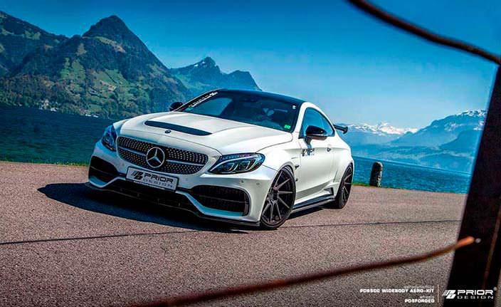 Спортивное купе Mercedes-AMG C63 Coupe от Prior Design