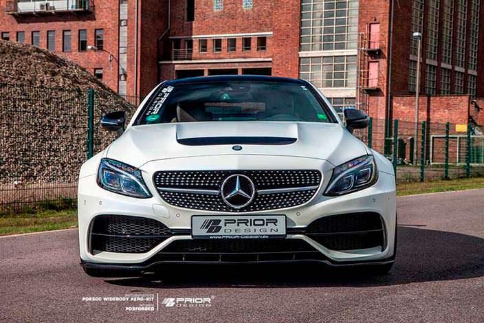 Фото | Купе Mercedes-AMG C63. Тюнинг Prior Design