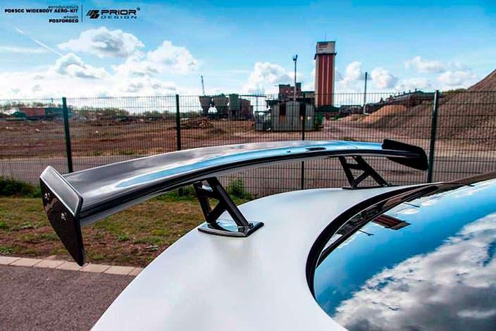Спойлер на багажник Mercedes-AMG C63 Coupe от Prior Design