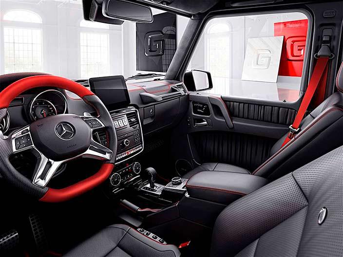 Фото салона Mercedes-Benz G-Class design manufaktur