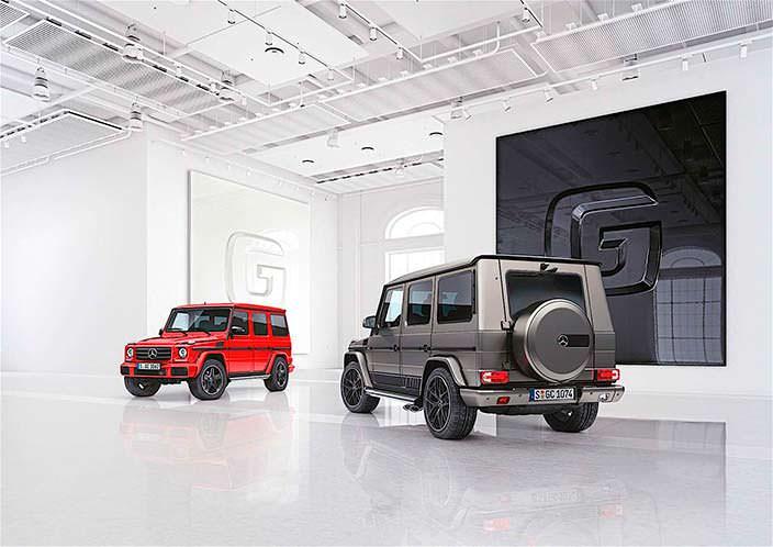 Mercedes-Benz G-Class design manufaktur и Exclusive Edition