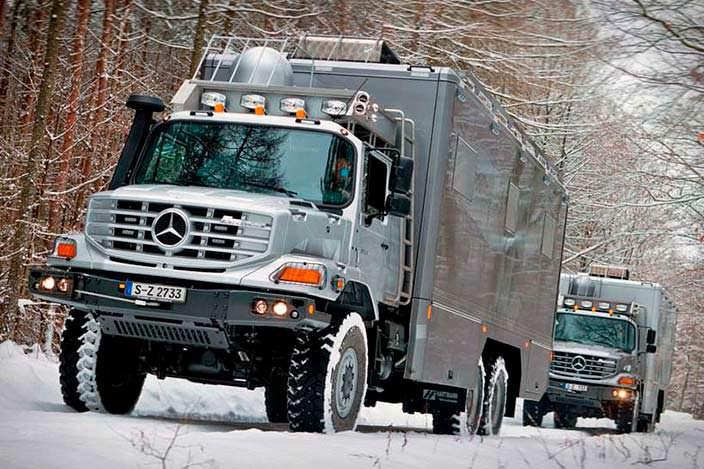 Экспедиционный грузовик Mercedes-Benz Zetros 6x6