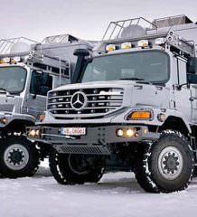 Mercedes-Benz Zestros 6x6: экспедиционный дом на колесах