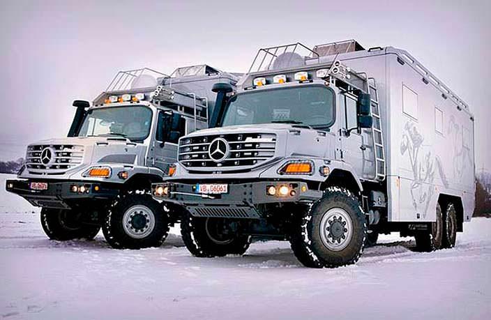 Экспедиционный автомобиль Mercedes-Benz Zetros 6x6