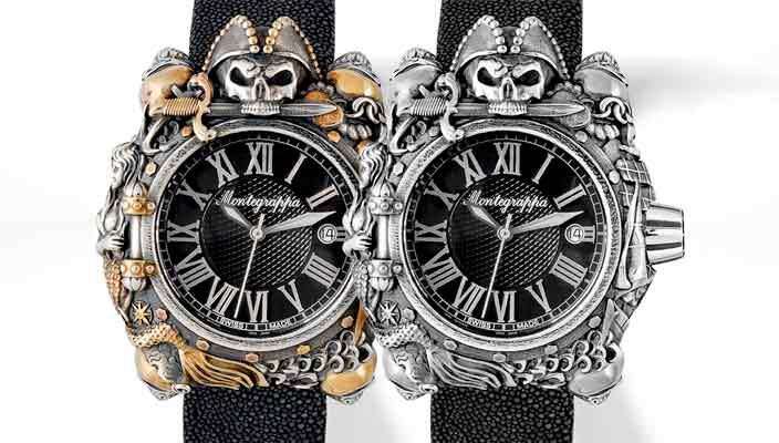 Montegrappa посвятил пиратские часы новой серии пиратской саги