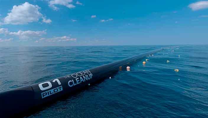 Стартап The Ocean Cleanup очистит мировой океан от мусора