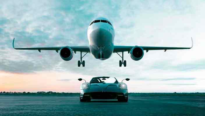 Airbus и Pagani создали элитный бизнес-джет Infinito | фото